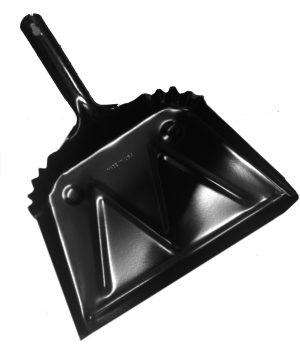 12 and 16 inch Metal Dust Pan
