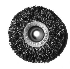 2 inch Ring Brush .014 Stainless Steel 3/8 inch Arbor