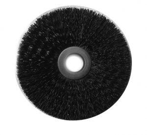 1-1/2 and 2-1/2 Ring Brush .010 Nylon 3/8 inch Arbor