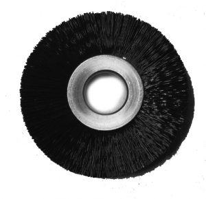 2 inch Ring Brush .010 Nylon 1/2 inch Arbor