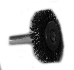 1-3/8 inch Radial End Brush 1/4 inch shank