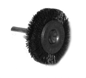 1-1/4 and 2 inch Radial Brush .006 Stainless Steel